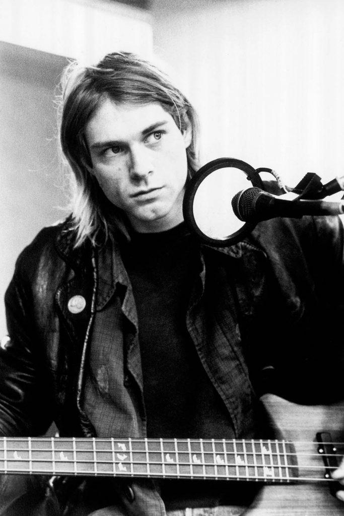 Kurt Cobain dan Gitar