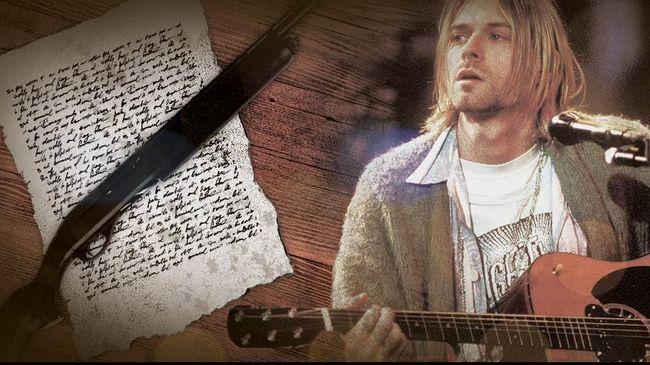 Memahami Isi Surat Terakhir Kurt Cobain
