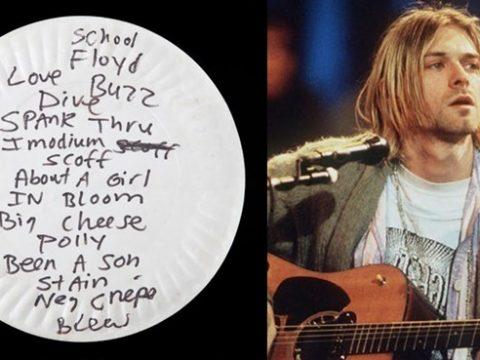 Surat Bunuh Diri Kurt Cobain Bukti Depresi Tidak Terselesaikan
